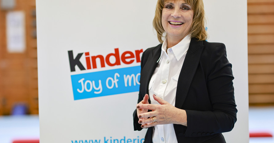 Sabine Lohr, Head of PR bei Ferrero (Foto: DOSB/Ferrero)
