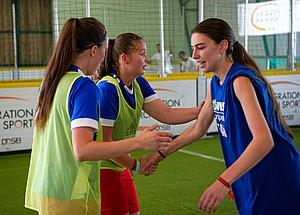Shake Hands, als Zeichen für Fairplay