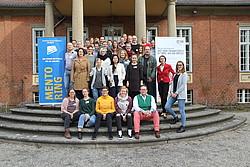 Mentoring-Teams von adh und DOSB im wannseeFORUM Berlin, Foto: DOSB