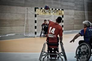 Roll 'n' Goal. Das erste Handball-Rolli-Turnier in Hamburg Foto: Nadine Pohle