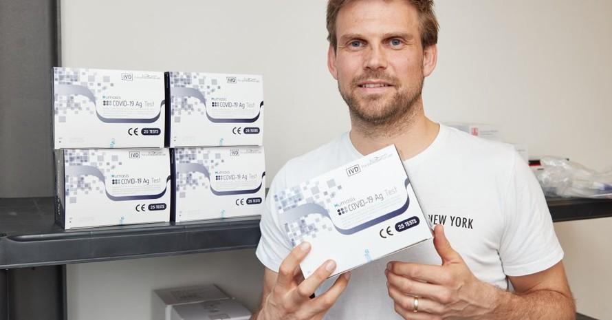 Moritz Fürste hat in Hamburg mehrere Corona-Schnelltestzentren eröffnet. Foto: picture-alliance