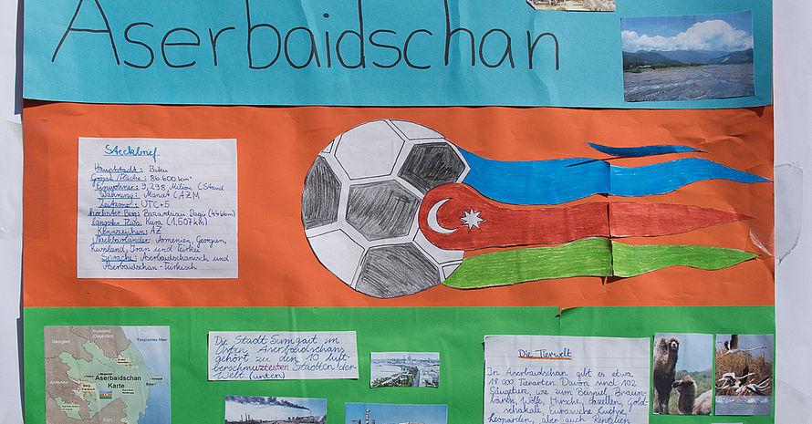 Aserbeidschan Grundschule am Blumenviertel Team 2,