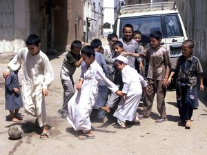 Fußballbegeisterung in Afghanistan. Copyright: picture-alliance