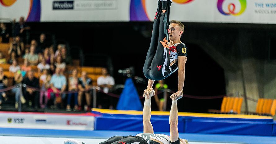 Überraschten alle: Tim Sebastian (unten) und Michail Kraft (oben). Foto: IWGA