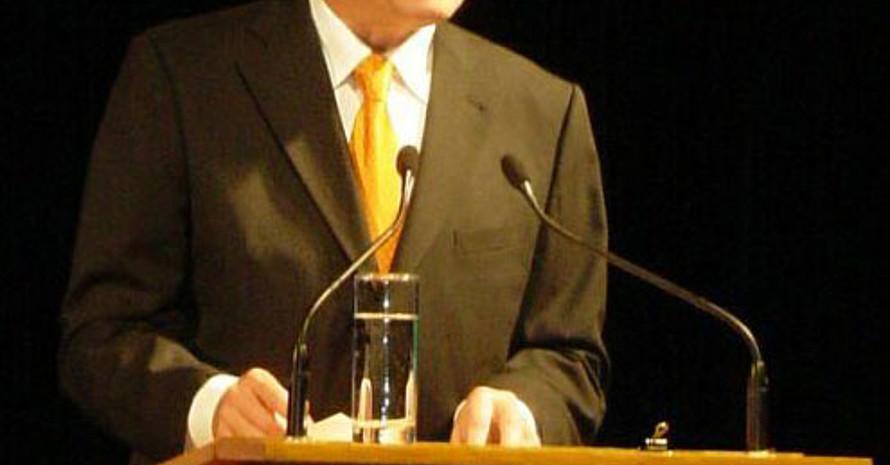 Bundespräsident Horst Köhler war der Hauptredner bei der Eröffnung