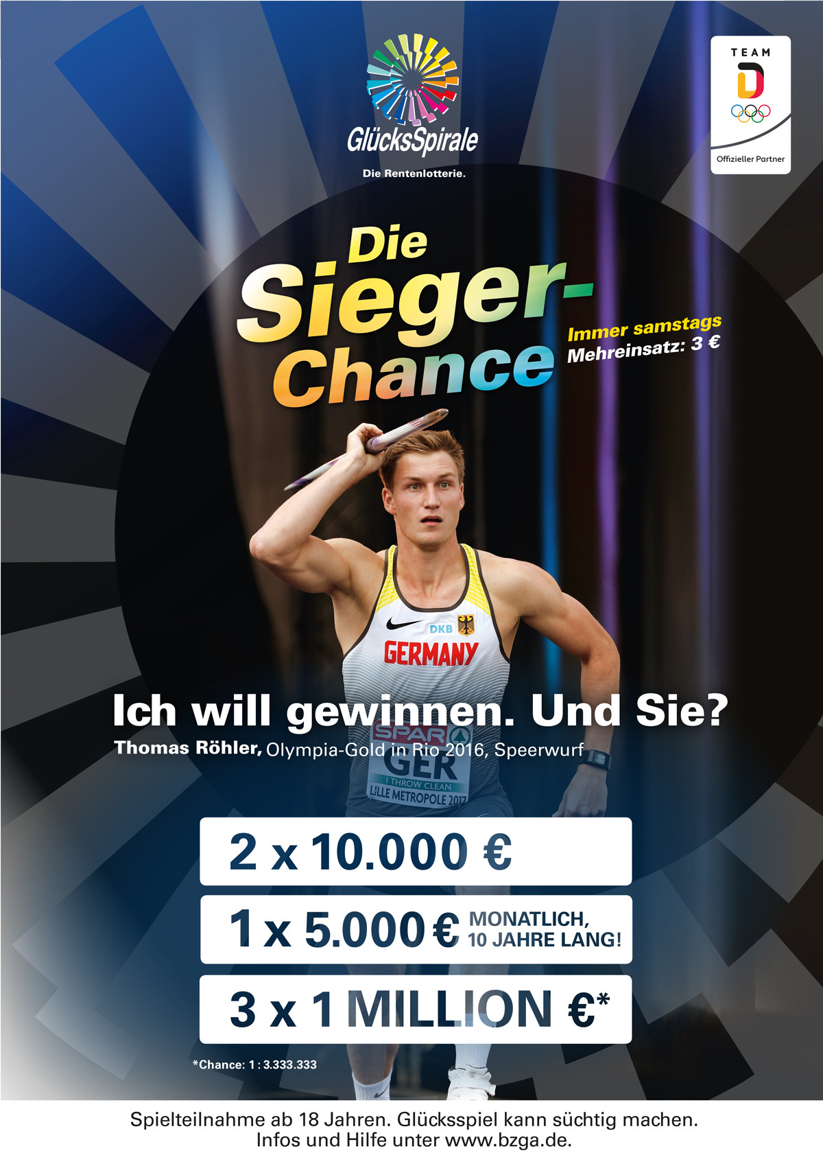 Sieger-Chance mit Thomas Röhler