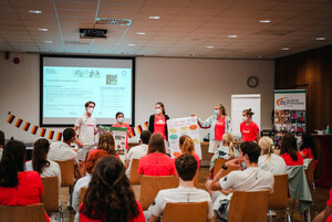 Ankunft in der Sportschule in Frankfurt zum Deutschen Olympischen Jugendlager 2020