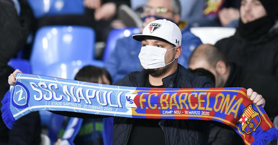 In Italien wurden am vergangenen Wochenende bereits einige Spiele der Serie-A abgesagt. Foto: picture-alliance