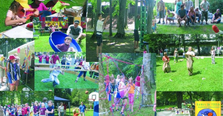 """Die Veranstaltung """"Games for YOUth"""" ist eine von zehn Bewerbern und bietet Kindern und Jugendlichen die Gelegenheit, verschiedene Sport- und Bewegungsangebote der Region, kennenzulernen. Foto: Initiative """"Games for YOUth"""" aus Kaufbeuren"""