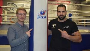 Clemens Busse und Rateb Hatahet vom PSV Rostock Foto: NNN
