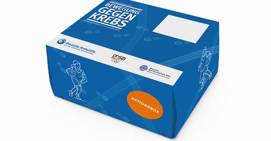 Alle am Wettbewerb teilnehmenden Vereine erhalten eine Aktionsbox für die Umsetzung der Kampagne. Foto: DOSB
