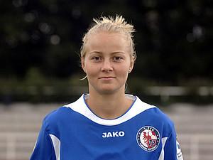 Annelie Brendel spielte zunächst für den 1. FFC Turbine Potsdam beendete ihre Karriere allerdings beim VfL Wolfsburg. Foto: picture-alliance