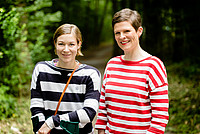 Amelie Kober und Steffi Klein bei der Auftaktveranstaltung am 8./9. Juli 2016 in Frankfurt. Foto: bewahrediezeit.de