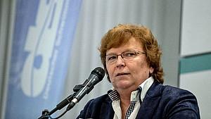 Gabi Dörries gibt nach zwei Jahren das Präsidentinnenamt im DSV auf. Foto: DSV