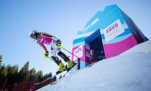 Lara Klein belegte mit einer guten Zeit im Slalom den 13. Platz in der Endwertung. Foto: Olympic Information Service