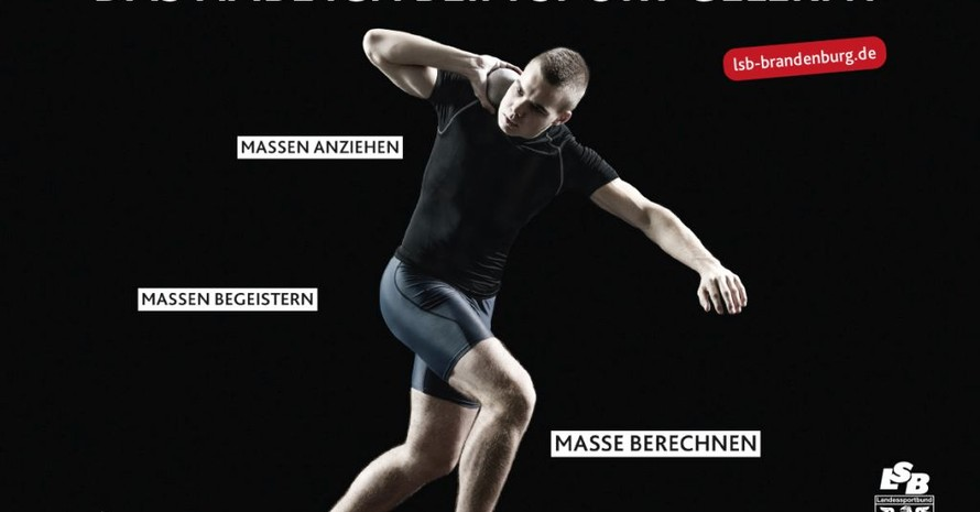 """Motiv zur Kampagne """"Beim Sport gelernt"""". Foto: LSB Brandeburg"""
