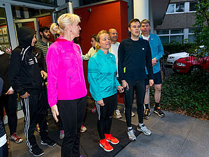 DOSB-Inklusionskongress-Ralf Kuckuck DBS-Akademie: Laufen mit Verena Bentele