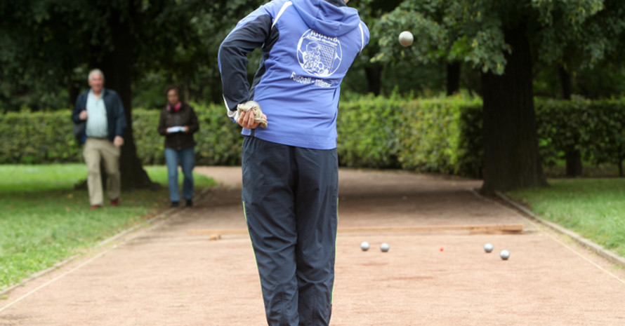 Sport im Grünen, aber mitten in der Stadt. Foto: picture-alliance