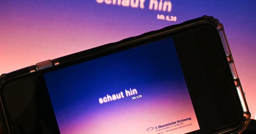 Der Ökumenische Kirchentag 2021 fand weitestgehend digital statt. Foto: picture-alliance