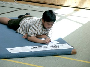 Die Aussicht auf Sport motiviert beim Lernen. Alle Fotos: Hamburger Sportbund