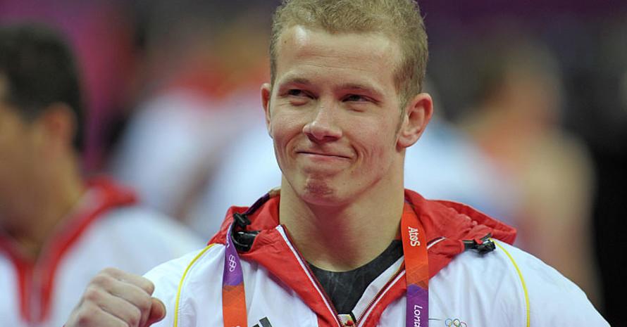 Fabian Hambüchen gewann bei den Olympischen Spielen in London 2012 Silber am Reck. Foto: picture-alliance