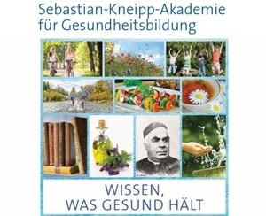 Screenshot vom Titelbild des neuen Programmheftes der Sebastian-Kneipp-Akademie