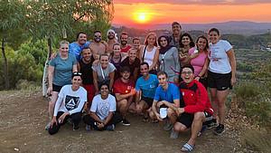 Nachwuchswissenschaftler aus aller Welt treffen sich beim Postgraduierten-Seminar in Olympia. Foto: DOA