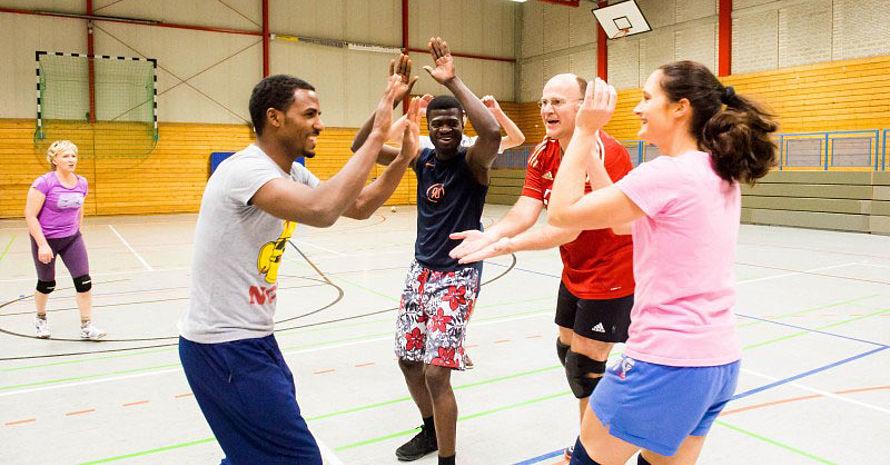 Sport kann die gesellschaftliche Integration der Geflüchteten ermöglichen.