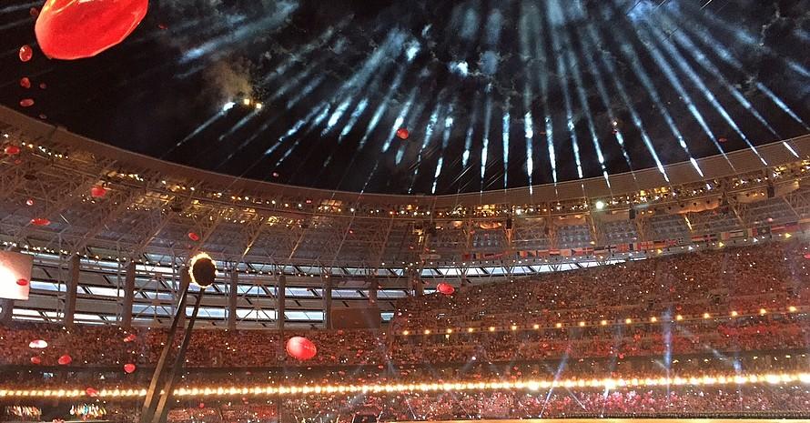 Finale mit Feuerwerk. Foto: DOSB