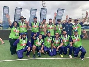 Das Cricket-Team der SG Findorff