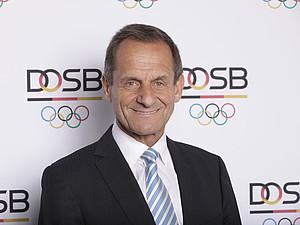 DOSB-Präsident Alfons Hörmann richtet einen Appell an Sportdeutschland. Foto: DOSB