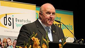 Ingo Weiss hat sich stark im Sinne des deutschen Sports engagiert. Foto: dsj