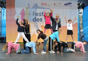 Mit dem Festival des Sports in Delbrück startete die Finalrunde im Wettbewerb Mission Olympic.
