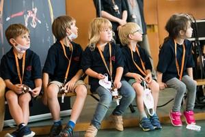 Wann dürfen wir endlich wieder Sport in unserem Verein machen, fragen sich diese Kinder. Foto: LSB NRW/Bowinkelmann