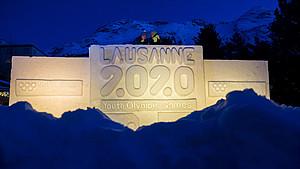 Lausanne ist bereit für die Youth Olympic Games. Foto: picture-alliance