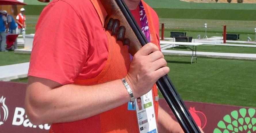 Karsten Bindrich kam mit den Windverhältnissen beim Trap-Schiessen nicht so gut zurecht. Alle Fotos: DOSB
