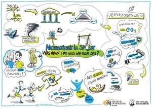 Beim Thema Nachhaltigkeit im Sport gibt es viele Möglichkeiten. Foto: DFB-Stiftung Egidius Braun