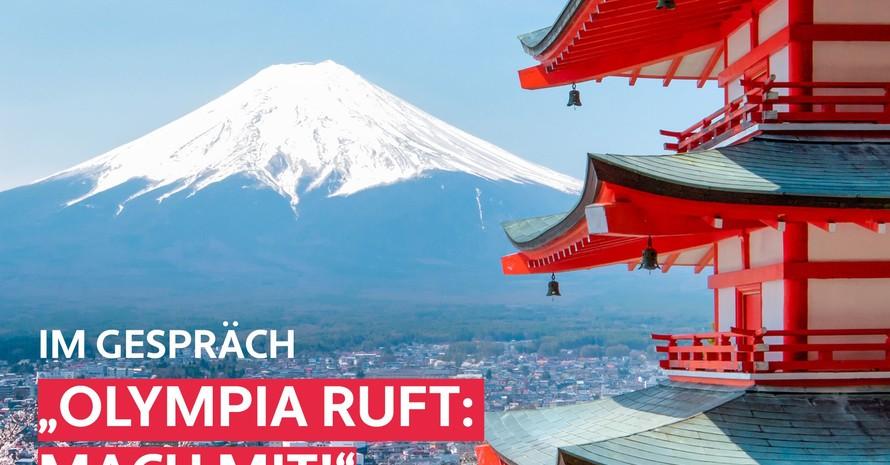"""Olympia ruft - Mach mit!""; Copyright: DOA"