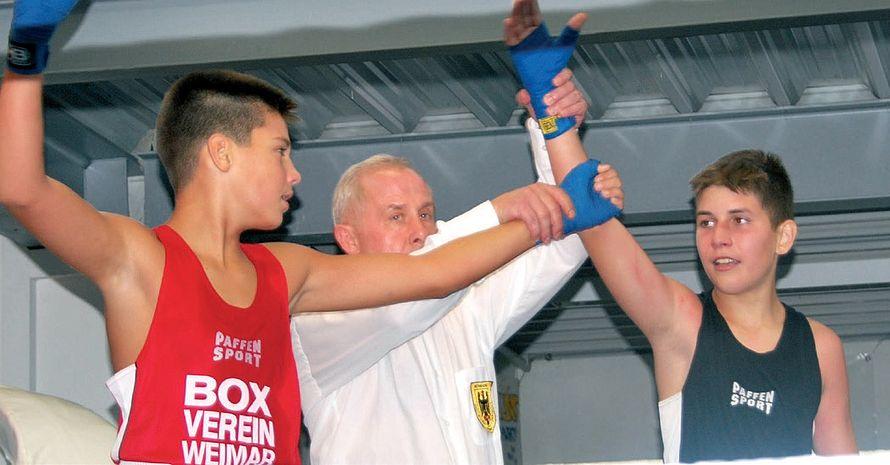 Die Sportart Boxen ist auch bei Flüchtlingskindern sehr beliebt