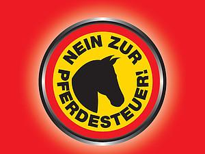 Vom 20. Februar bis 31. März werden Unterschriften gegen die Pferdesteuer gesammelt.