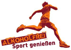 """Sportverbände wie der DOSB unterstützen die Aktion """"Alkoholfrei Sport genießen"""". Copyright: BZgA"""