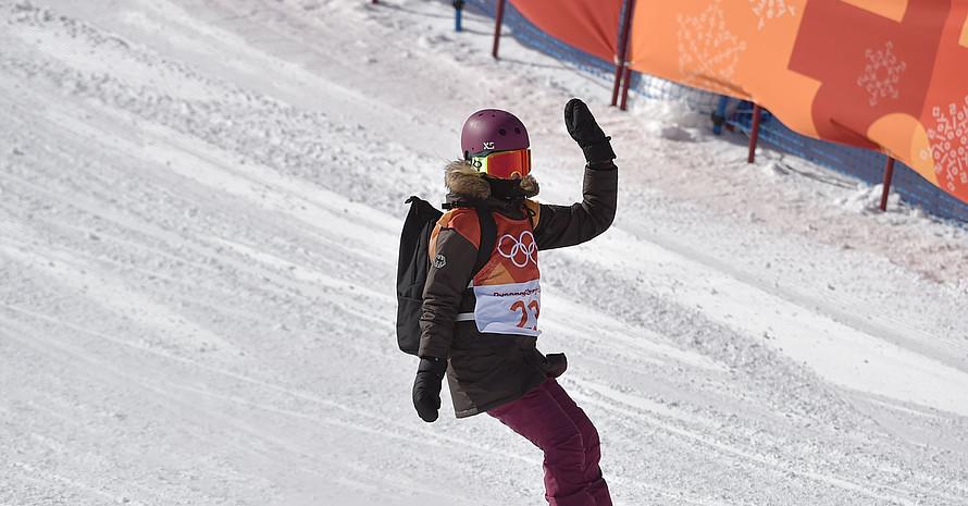 Silvia Mittermüller verabschiedet sich verletzungsbedingt vorzeitig von den Olympischen Spielen in PyeongChang. Foto: picture-alliance