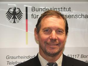 Dr. Karl Quade hat die Leitung des Fachbereichs I - Forschung und Entwicklung - im Bundesinstitut für Sportwissenschaft (BISp) übernommen. Bild: BISp
