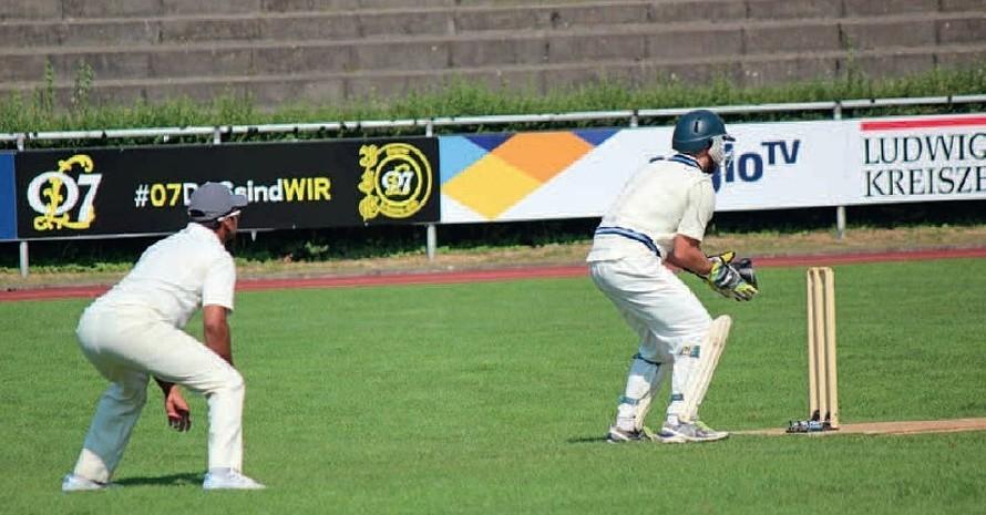 Erfolgreich und integrativ: die Cricket-Spieler des TVP