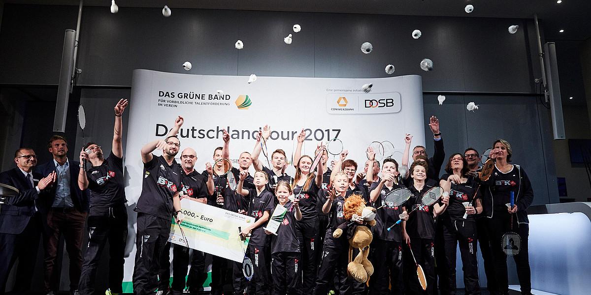 """Die Bewerbungsphase für das """"Grüne Band"""" 2019 ist beendet! Jetzt sind die Spitzenverbände dran – Erfahren Sie, wie es jetzt mit Ihrer Bewerbung in den nächsten Schritten weiter geht!"""