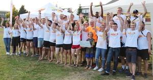 Auch dieses Jahr will das Team aus Vechta bei der Sportabzeichen-Uni-Challenge wieder jubeln (Foto: Uni Vechta/Daubenspeck)