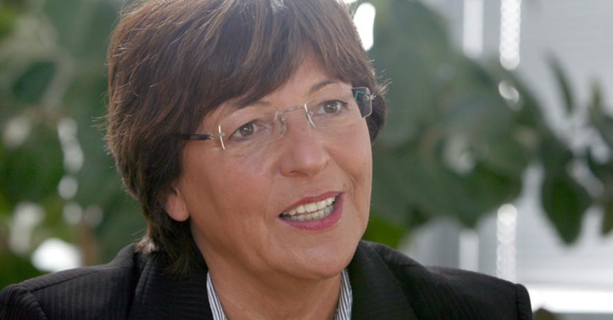 Ulla Schmidt im Interview. Copyright: picture-alliance