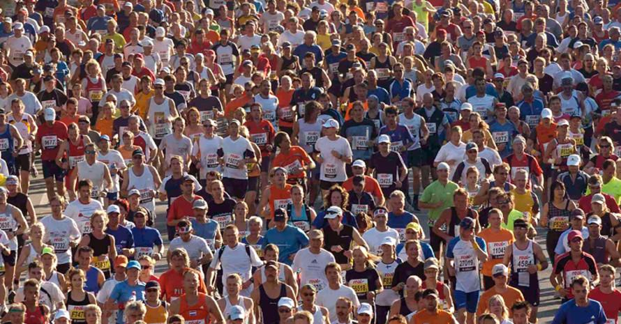 Die moderne Laufbewegung feiert in diesen Tagen ihr 50-jähriges Bestehen. Foto: picture-alliance
