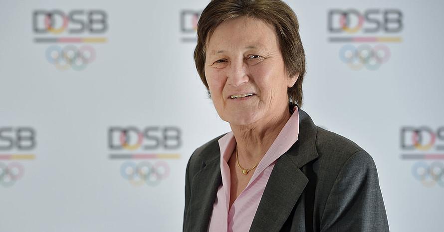 Uschi Schmitz ist seit Dezember Vizepräsidentin Leistungssport im DOSB. Foto: DOSB/Frank May