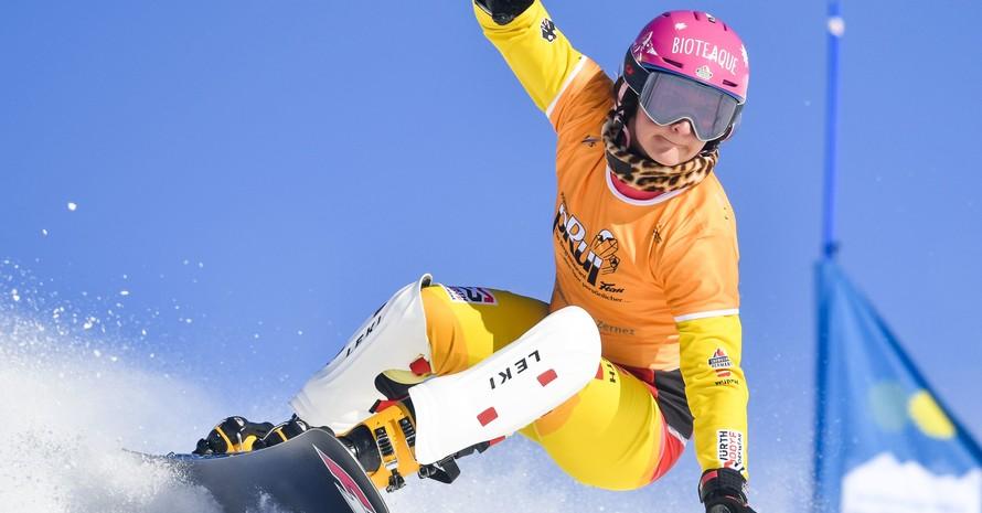 Ramona Hofmeister siegte auch beim Parallel-Riesenslalom am vergangenen Wochenende (11. Jan.) in Scuol in der Schweiz. Foto: picture-alliance